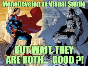 Unity MonoDevelop vs Visual Studio